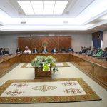 الرئيس غزواني في أول اجتماع للوزراء : ستمنحكم الصلاحيات والإمكانيات المناسبة وننتظر منكم تحقيق النتائج