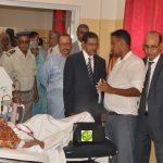 ارتياح واسع لتصريحات وزير الصحة على هامش زيارته  لبعض المنشآت الصحية في نواكشوط :