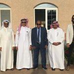 السفير السعودي يقيم مأدبة غداء لوفد الصندوق السعودي الزائر لموريتاني
