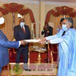 سفير موريتانيا في الكونغو يقدم أوراق اعتماده