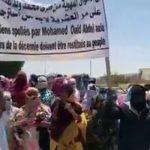 تظاهرة أمام قصر العدل للمطالبة باسترجاع أموال العشرية و خفض الاسعار وتوفير الأمن