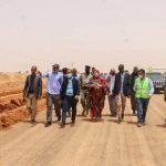 وزير التجهيز و النقل يتفقد الأشغال الجارية على طريق الأمل