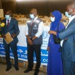 الصحة العالمية تقدم مليون كمامة مساعدة لموريتانيا